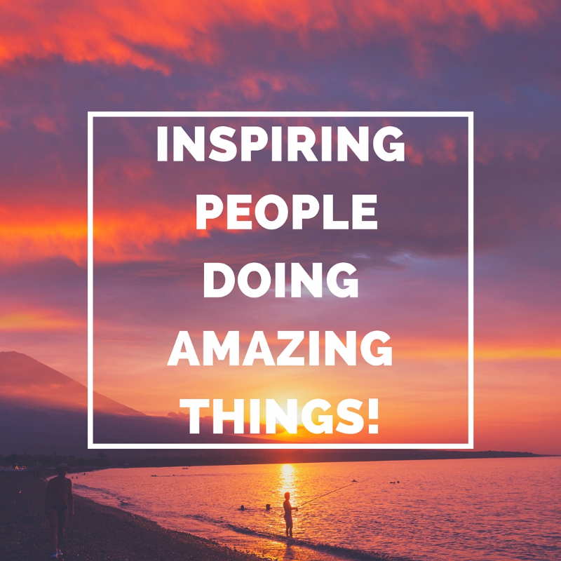 inspiring people doing amazing things law of attraction