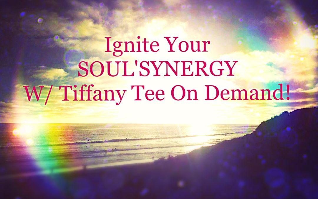 Introducing SOUL'SYNERGY with Tiffany Tee On Demand